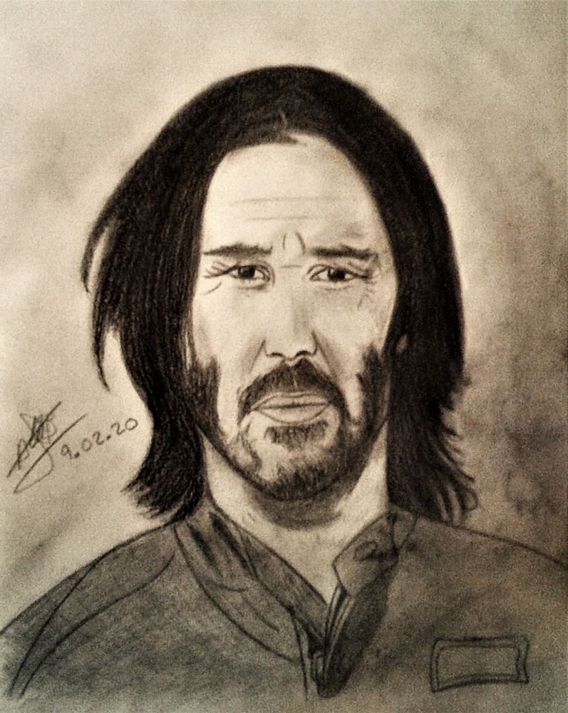 Keanu Reeves by aline17